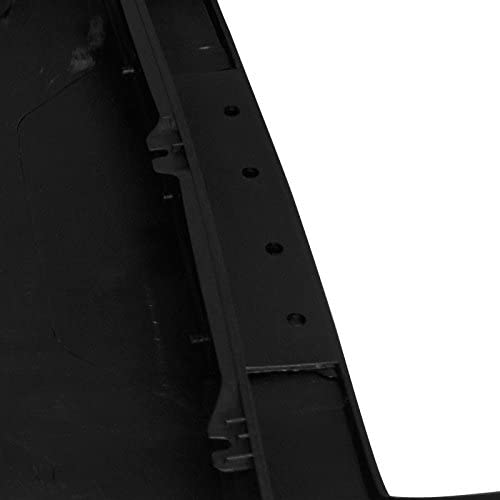 SPEC-D TUNING HSCP-MST05-RS Ford Mustang Gt Style Front Hood Scoop Black