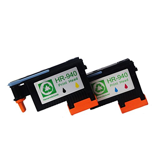 Colour-store 2 Pack Printhead for HP Officejet Pro 8000 8500 Hp 940 Print Head C4900A C4901A For HP Officejet Pro 8000 8500 8500A 8500A Plus 8500A
