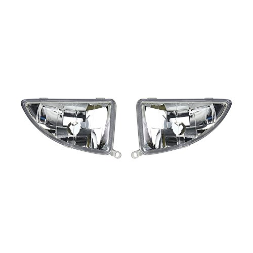 NEW PAIR OF FOG LIGHTS FITS FORD FOCUS ZTS ZX3 2000-04 YS4Z-15L203-BA YS4Z15L203BA YS4Z15L203BB YS4Z 15L203 BA YS4Z-15L203-BB FO2593177 FO2592177