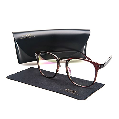 Eyewear Frames Eyeglasses Optical Frame Wayfarer Fashion Clear Lens Glasses For - Man Big For Eyeglasses Nose