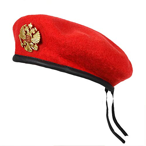 (Winter Wool Knitted Russian Army Men Beret Hat Special Forces Soldiers Uniform Cap Military Training Camp Cap)