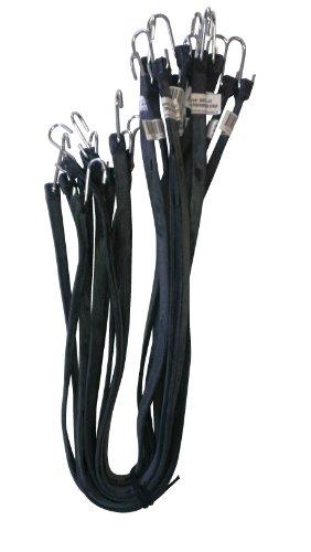 Kotap MBRS-41 EPDM Rubber 41-Inch Strap, Black, 10-Piece