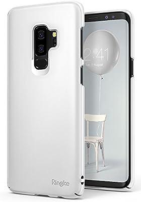 Ringke Slim Compatible con Funda Galaxy S9 Plus, Funda Dura con Recubrimiento Superior de Ajuste Ceñido [con Cortes a Medida] Extremadamente Ligera y ...