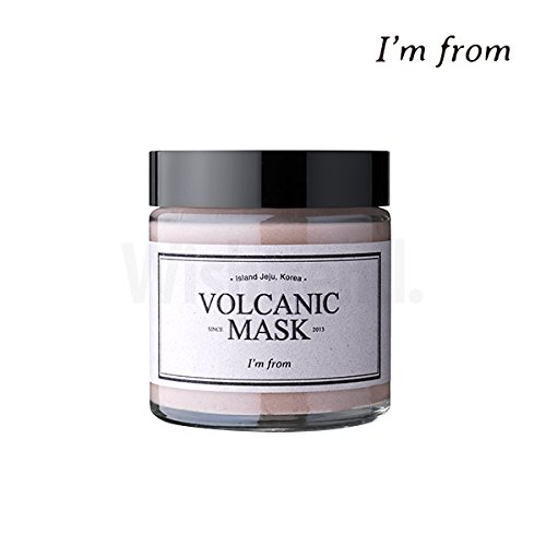 I'M FROM Volcanic Mask 110g, Natural Volcanic Clay 8.6%, Absorbs excess sebum and dead skin cell Lab&Company