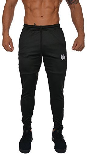 f784191ec3d YoungLA Track Pants for Men Workout Athletic Gym Joggers Lightweight ...