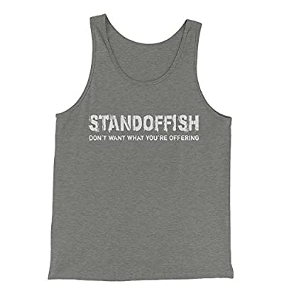 Expression Tees Standoffish Jersey Tank Top for Men
