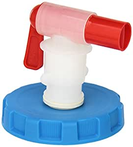 WaterBrick WB-0001 Ventless Spigot Assembly, Fits Both WaterBrick Water Container Sizes, Blue/White/Red
