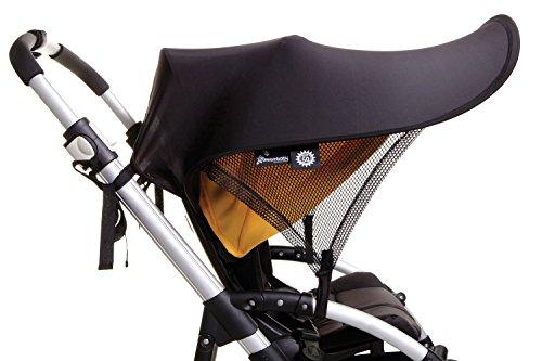 Dreambaby Strollerbuddy Extenda-Shade, Black, Large by Dreambaby (Image #1)