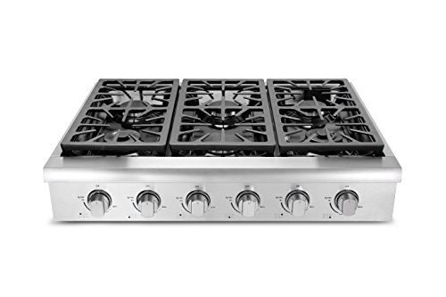 36in gas cooktop - 7