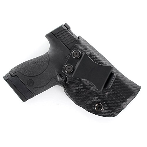 Outlaw Holsters Black Carbon Fiber Kydex Concealment IWB Holster (Right-Hand, Walther P22)]()