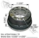 151.5503BA, Brake Drum - 15''x5'', 3754X / 61951B