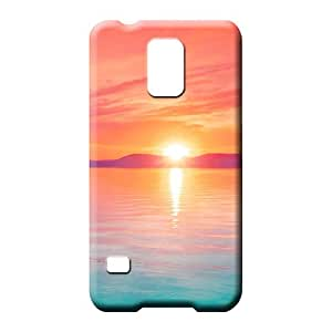 samsung galaxy s5 Strong Protect Tpye Hot Style phone cover case sky blue air white cloud