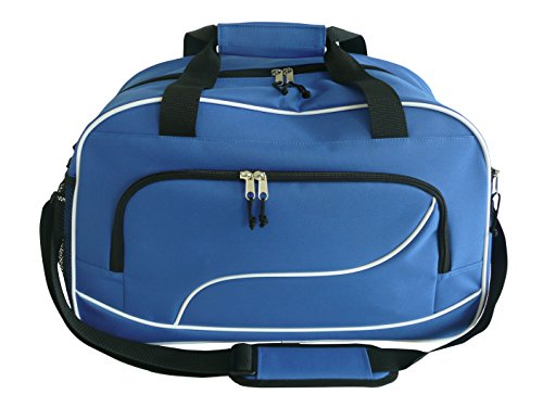 - amaro Sports Bag Fashion Travel Bag 38 Litre Blue