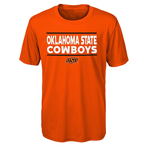 - Gen 2 NCAA Oklahoma State Cowboys Youth Boys Short Sleeve Performance Tee, Youth Boys X-Large(18), Orange