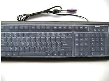 Protector de silicona para teclado de ordenador universales