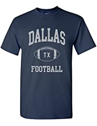 City Classic Football Arch T Shirt Basic Cotton