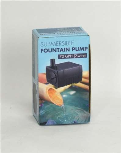 Jebao 70GPH 120V Submersible Fountain Pump (2-Wire), PP-333 by Bamboo Accents
