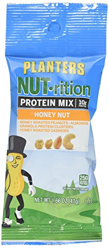 Planters Mixed Nuts, Energy Mix, 1.66 Ounce (Pack of (Mix Honey Nut)