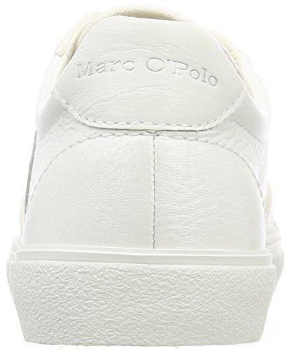 O'polo Weiß Femme Baskets white Sneaker Marc BqOdHq