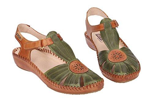 Cactus Sandal Puerto Vallarta Leather 0575 655 Women's Pikolinos wq6HfCH