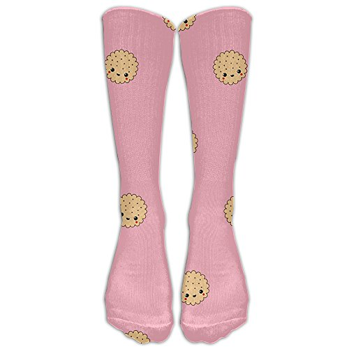 Small Cookie Comfort Casual Fashion Long Socks For Running ,Sport And Travel