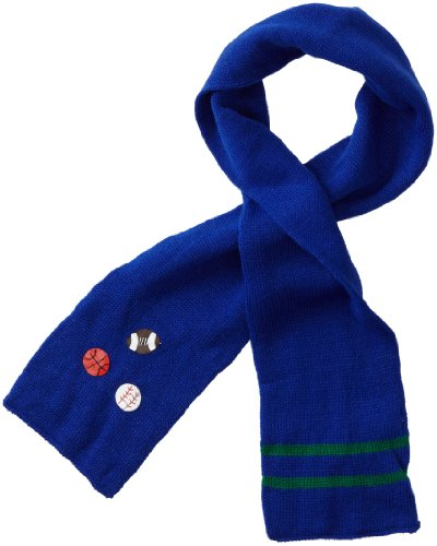 - Kidorable Soft Acrylic Knit Scarf, Sports (Blue), One Size Fits Most, for Toddlers, Little Kids, Big Kids