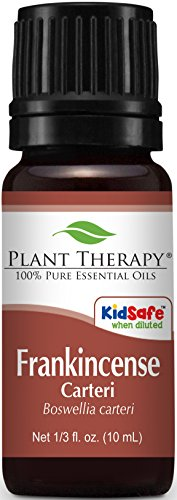 Plant Therapy Frankincense Carteri Essential Oil | 100% Pure, Undiluted, Natural Aromatherapy, Therapeutic Grade | 10 Milliliter (⅓ Ounce)