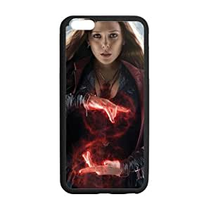 the Case Shop- Avengers 2 Avengers2 Age of Ultron Super Hero Scarlet Witch TPU Rubber Hard Back Case Silicone Cover Skin for iPhone 6 Plus 5.5 Inch , i6pxq-597