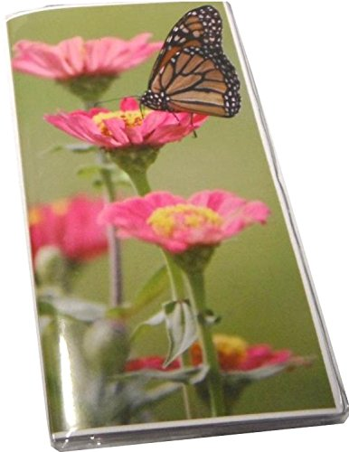 Pocket Date Book - Monarch Butterfly 2018-19 Calendar Planner w/ Notepad