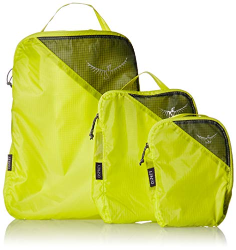 Osprey Packs UL Packing Cube Set, Electric Lime, One Size -
