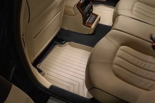 WeatherTech Custom Fit Rear FloorLiner for Cadillac CTS, Tan ()