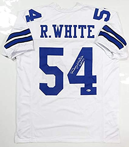 ae9186b37a2 Autographed Randy White Jersey - Pro Style w HOF Beckett Auth *4 - Beckett  Authentication - Autographed NFL Jerseys at Amazon's Sports Collectibles  Store