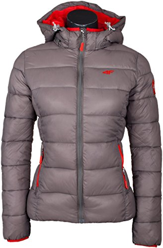 Winter Down anthrazit Quilted Womens nbsp;°F hell Jacket 4 nbsp;Model KUD001 Jacket TEtqvq