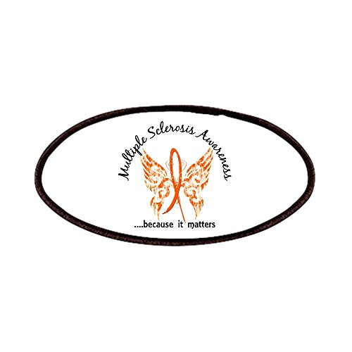 CafePress - MS Butterfly 6.1 Patches - Patch, 4x2in Printed Novelty Applique Patch ()