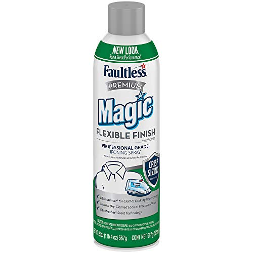 Magic Sizing Spray X-Crisp - Get That Extra Crisp and Extra Polished Look! - Wrinkle Iron Spray for Clothes-Fabric Refresher Spray (Pack of 12-20oz) - Mountain Lavender Scented Ironing Spray