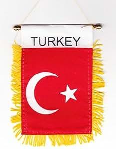 Turkey - Window Hanging Flags
