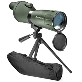 BARSKA 20-60x60 Zoom Colorado Spotting Scope (Green Finish)