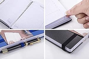 Agenda 2020 Día por Página A5 - Diaria Vista Planificador Diario 2020 14 x 21 cm, 320 Páginas, 8 Idiomas Negro