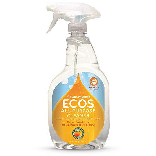 Earth Friendly Products Orange Plus Cleaner, Ready-to-Use Spray, 22 Fl. Oz. (Pack of ()