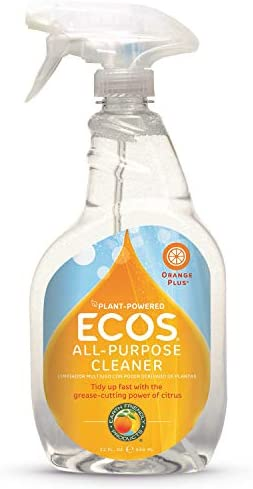 ECOS® Non-Toxic Orange All Purpose Cleaner, 22oz Bottle via Earth Friendly Products (Pack of two)