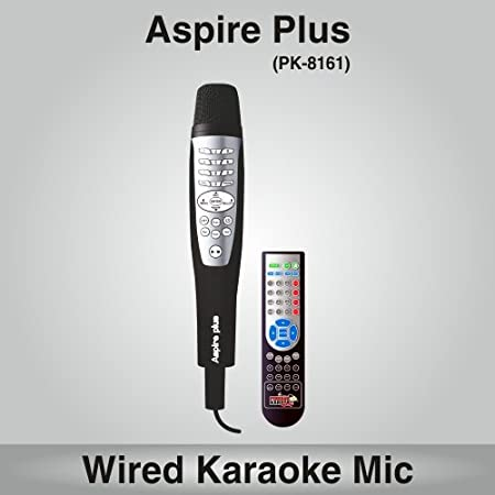 Persang Karaoke Aspire Plus PK-8161 Karaoke System with Remote, Black Systems at amazon