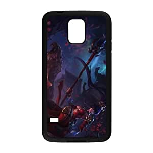 Samsung Galaxy S5 Cell Phone Case Black League of Legends Warring Kingdoms Nidalee YD656674