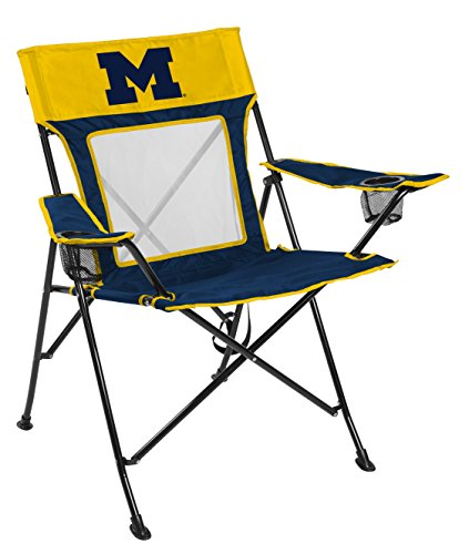 Rawlings NCAA Michigan Wolverines Unisex 00643083111NCAA Game Changer Chair (All Team Options), Blue, Adult