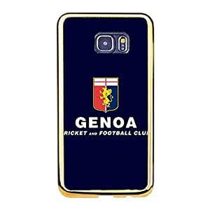Samsung Galaxy S6 Edge Plus Phone Case Cover,Hot Official Genoa Cricket and Football Club Logo Design Premium Phone Case for Samsung Galaxy S6 Edge Plus