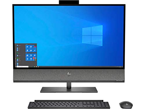 "CUK HP Envy 32 All-in-One Desktop PC (Intel i9-10900, 32GB RAM, 1TB NVMe SSD + 2TB HDD, NVIDIA GeForce RTX 2080 Super 8GB, 31.5"" 4K UHD, Windows 10 Pro) Professional and Gaming AIO Computer"