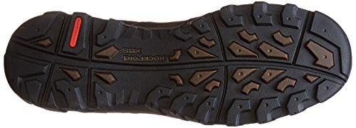 Rockport Heren Koude Bronnen Plus Spatbord Boot - Snelheid Kant Donker Bruin Geolied Leer 10,5 W (ee)