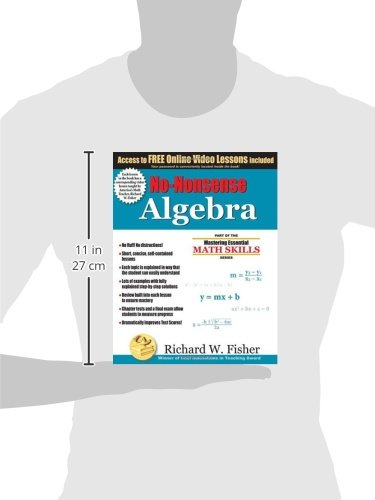 No-Nonsense Algebra: Part of the Mastering Essential Math Skills ...
