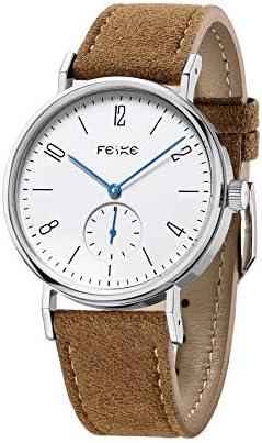 FEICE Unisex Men s Watches Bauhaus Watch Automatic Mechanical Watch Analog Wristwatch -Sapphire Glass Mirror -38mm Case FM201