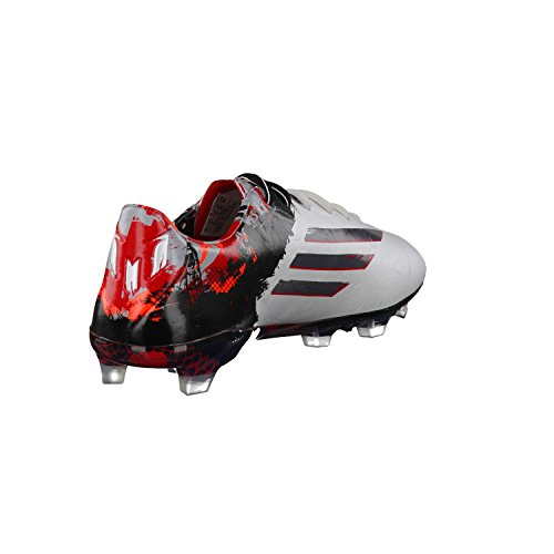 adidas Messi 10.1 FG Mens Football Boots Soccer Cleats Firm Ground White Granite Scarlet Red B23767 cheap sale 2015 sale visit pay with paypal online choice online new sale online vrEVTo
