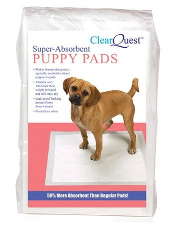 ClearQuest Super-Absorbent Puppy Pads (22″ x 23″), Multi-Packs: 100 Pack, My Pet Supplies